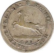 8 schilling Georg II. August – avers