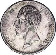 ⅔ Thaler - Friedrich VI von Dänemark – avers