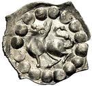 """1 Pfennig """"Vierzipfliger"""" – avers"""