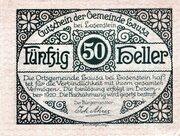 50 Heller (Lausa bei Losenstein) -  avers