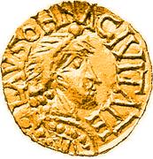 Tremissis - Floricius (Lausonna) – avers