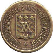 25 centimes - union commerciale & industrielle viganaise - Le Vigan [30] – avers