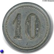 10 Centimes Union Commerciale & Industrielle Viganaise - Le Vigan [30] – revers