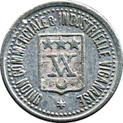 5 Centimes Union Commerciale & Industrielle Viganaise - Le Vigan [30] – avers