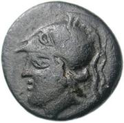 Bronze Æ14 (Lebadeia) – avers