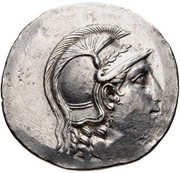 Tetradrachm - Apollodotos – avers