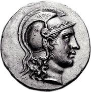 Tetradrachm - Athenaios – avers