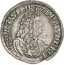15 Kreuzer - Georg Wilhelm – avers