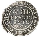 8 Pfennig - Ludwig – revers