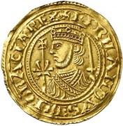 Maravedi d'or Ferdinand II León – avers