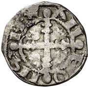 Dinero Alphonse IX Oviedo – avers
