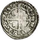 Dinero Alphonse IX Salamanque – avers