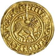 Maravedi d'or Ferdinand II León – revers