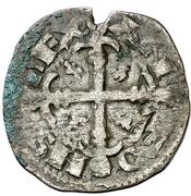Dinero Alphonse IX Saint-Jacques – avers