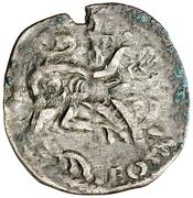 Dinero Alphonse IX Saint-Jacques – revers