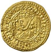 Maravedi d'or Alphonse IX León – avers