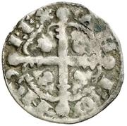 Dinero Alphonse IX Saint-Jacques-de-Compostelle – avers