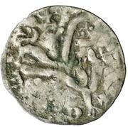 Dinero Alphonse IX Saint-Jacques-de-Compostelle – revers
