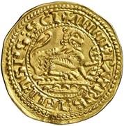 Maravedi d'or Alphonse IX León – revers