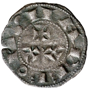 Dinero Alphonse IX León -  avers