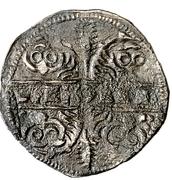 Dinero Alphonse IX León -  revers