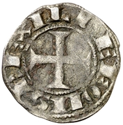 Dinero Alphonse IX – avers