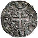 Dinero Alphonse IX León – revers
