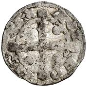 Dinero Alphonse IX étoile – avers