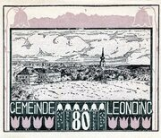 80 Heller (Leonding) -  avers