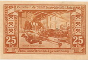 25 Pfennig (Leopoldshall) -  revers
