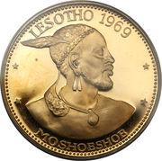 10 Maloti - Moshoeshoe II – avers