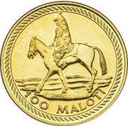 100 Maloti - Moshoeshoe II (Indépendance) – revers