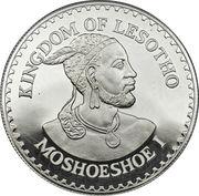 10 Maloti - Moshoeshoe II (Année internationale de l'enfance ; Piedfort) – avers