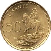 50 lisente Letsie III -  revers
