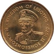 5 lisente Moshoeshoe II -  avers
