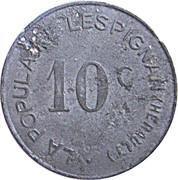 10 centimes - La Populaire - Lespignan [34] – avers
