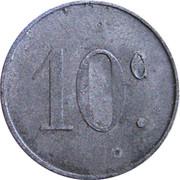 10 centimes - La Populaire - Lespignan [34] – revers