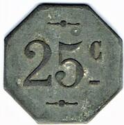 25 centimes - La Populaire - Lespignan (34) – revers