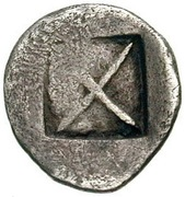 1/8 Stater (Lete) – revers