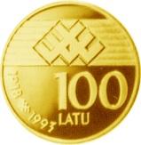100 Latu – revers