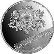 1 Lats (Lettonie-Union Européenne) – avers