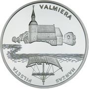 1 Lats (Valmiera) – revers