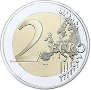 2 euros Céramique latgalienne -  avers