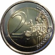 2 euros Présidence de l'UE – revers