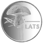 1 lats (champignon) – revers