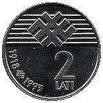 2 lati -  avers