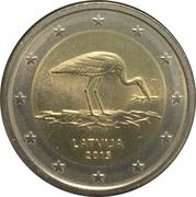 2 euros Cigogne -  avers