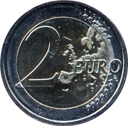 2 euros Latgale -  revers