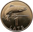 1 lats (poisson) – revers