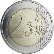 2 euros Indépendance des Pays-baltes -  revers